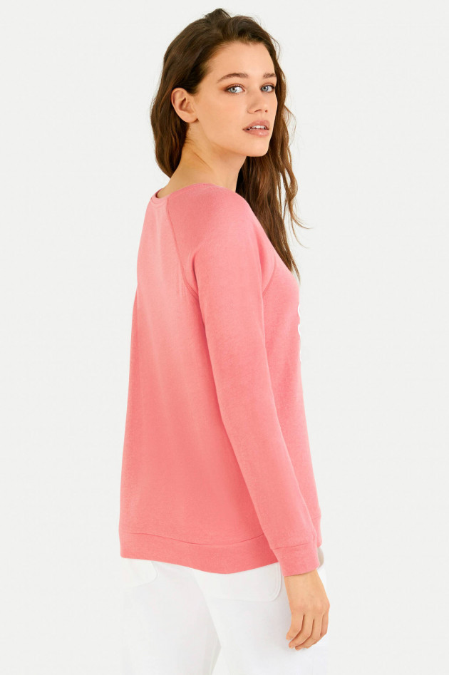 Juvia Cashmix Sweater COMFY ALL DAY in Koralle