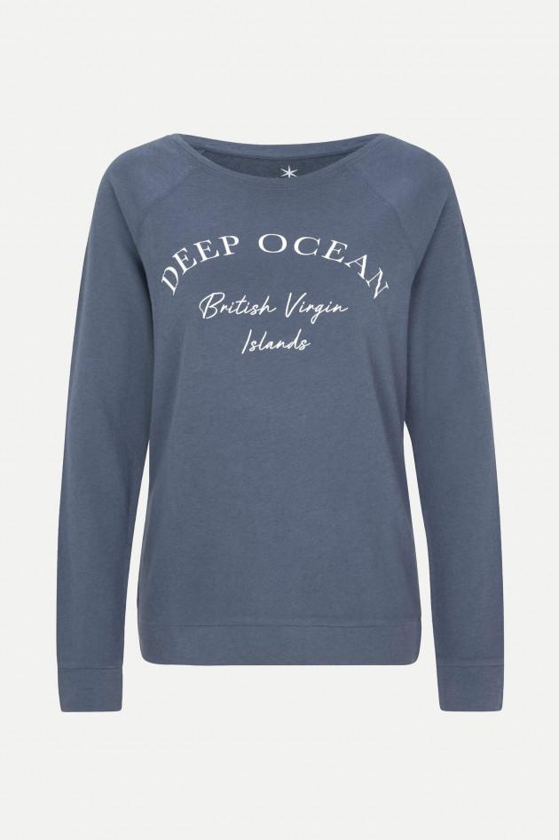 Juvia Cashmix Sweater DEEP OCEAN in Dunkelblau