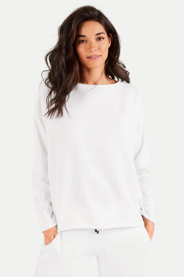 Juvia Oversized Sweater in Weiß