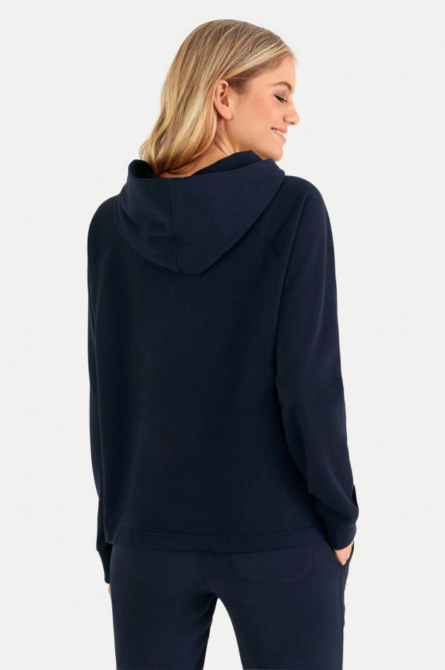 Juvia Sweater mit Kapuze in Navy
