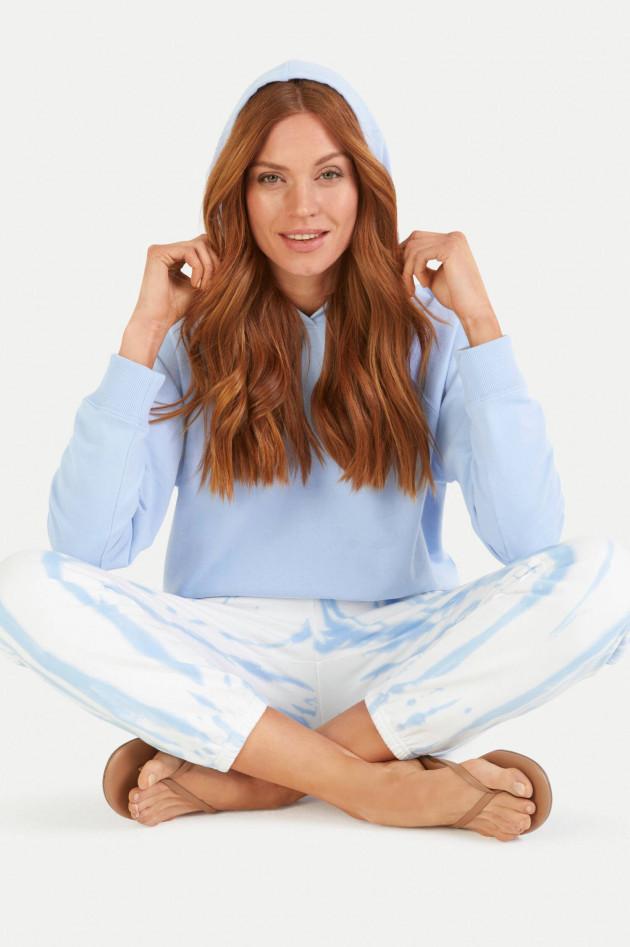 Juvia Sweater mit Kapuze in Hellblau