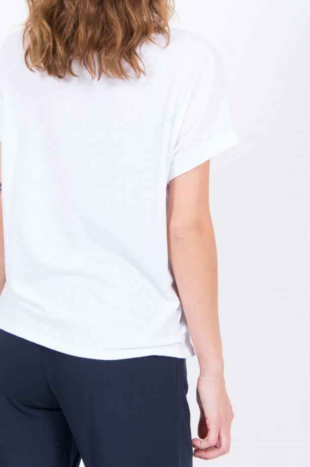 Juvia T-Shirt SUMATRA in Weiß