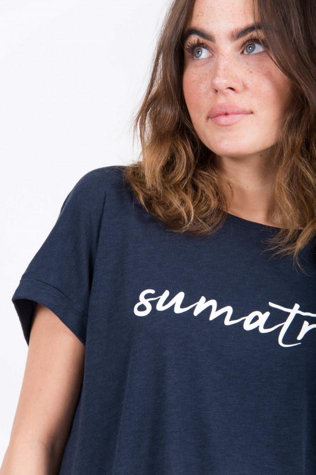 Juvia T-Shirt SUMATRA in Navy