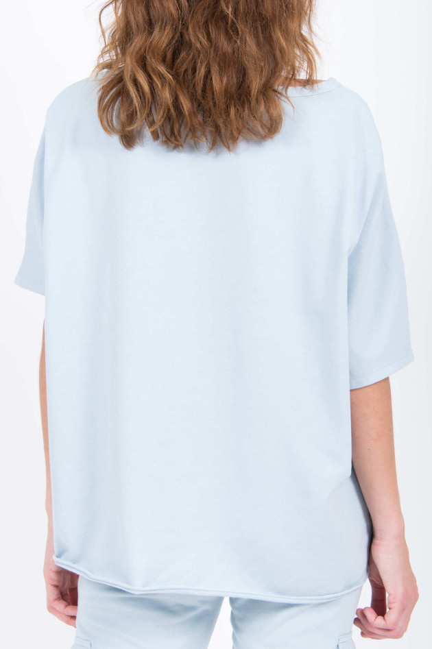 Juvia Sweat-Cape in Hellblau