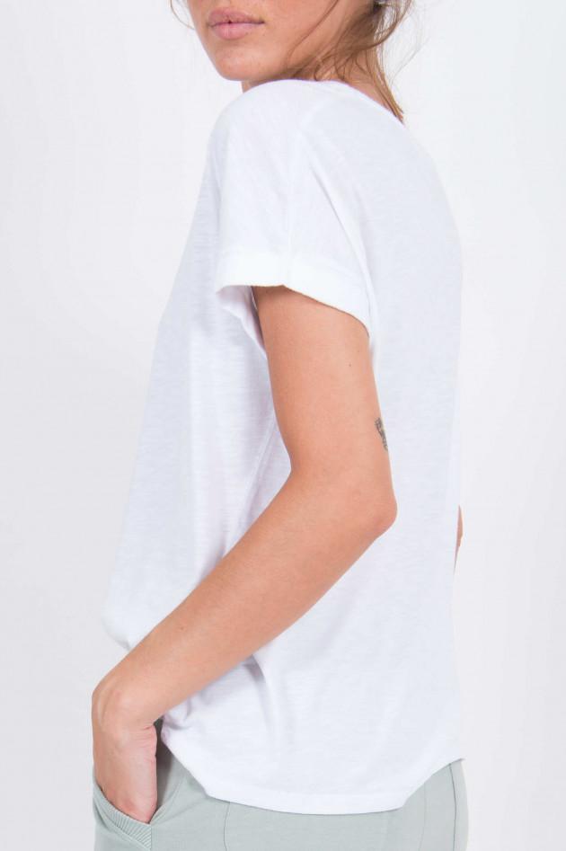 Juvia T-Shirt mit Tigerprint in Weiß
