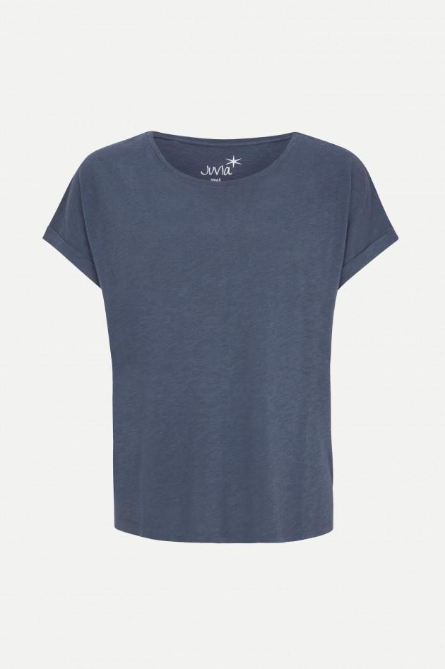 Juvia Kurzam T-Shirt in Dunkelblau