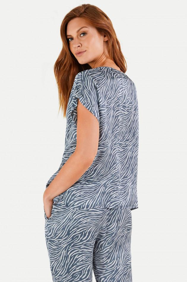 Juvia Shirt DESERT STRIPES aus Viskose