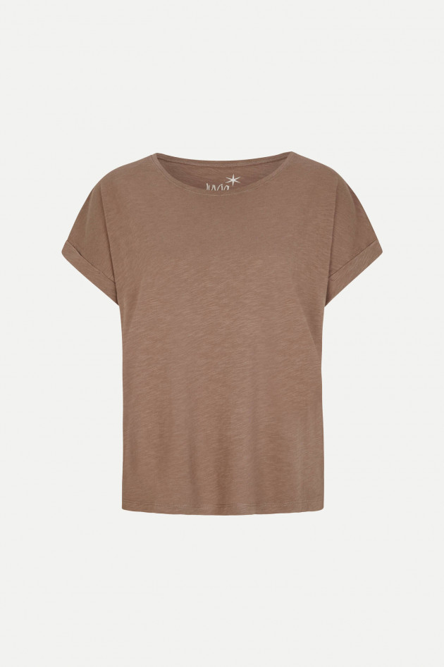 Juvia Boxy Fit T-Shirt in Tabacco