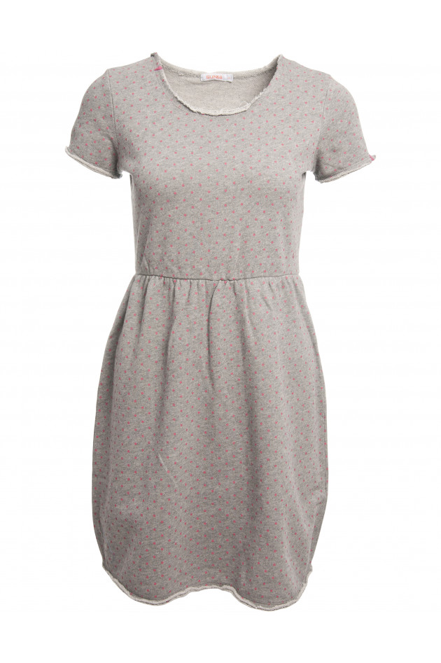 Sun68 Kleid gepunktet in Grau/Pink | GRUENER.AT
