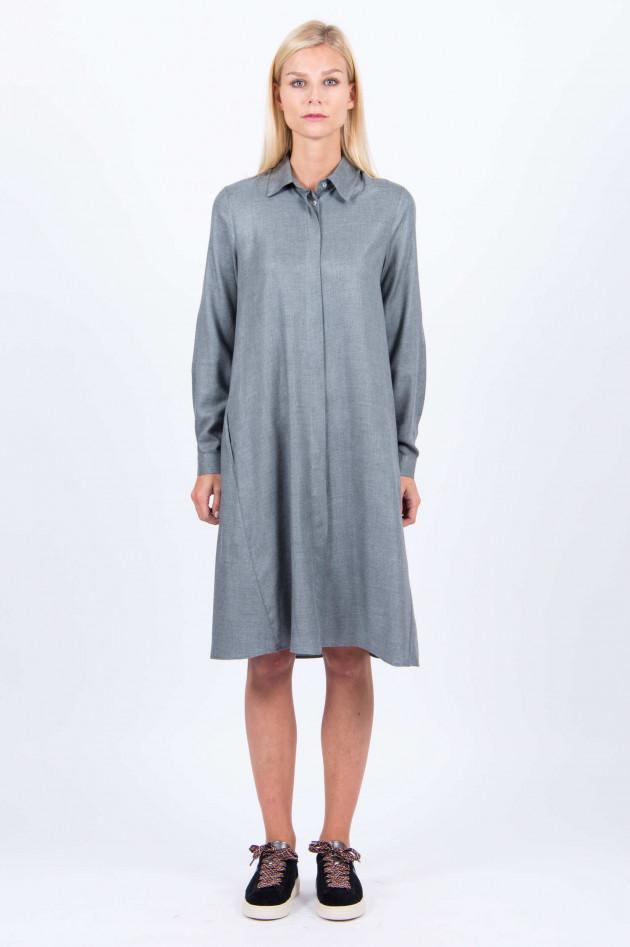 La Camicia Hemdkleid in Grau