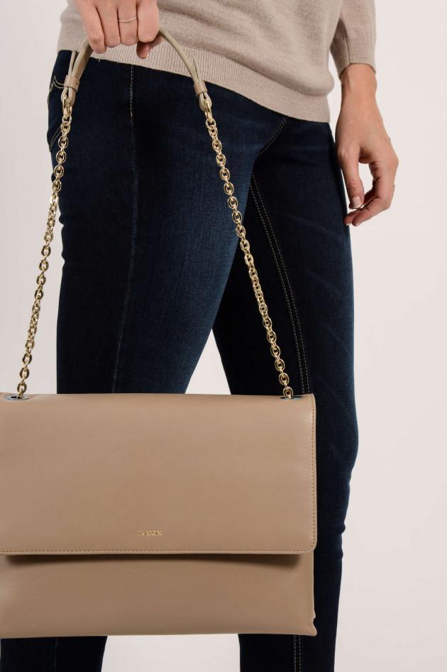 Lanvin Tasche aus Leder in Taupe