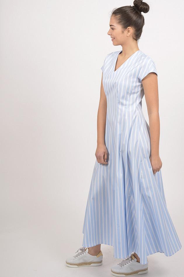 Grüner Online Shop: Le Sarte Pettegole Kleid in Blau/Weiß ...