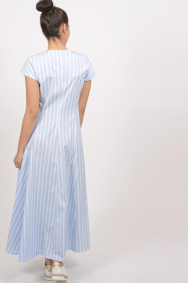 Le Sarte Pettegole Kleid in Blau/Weiß gestreift