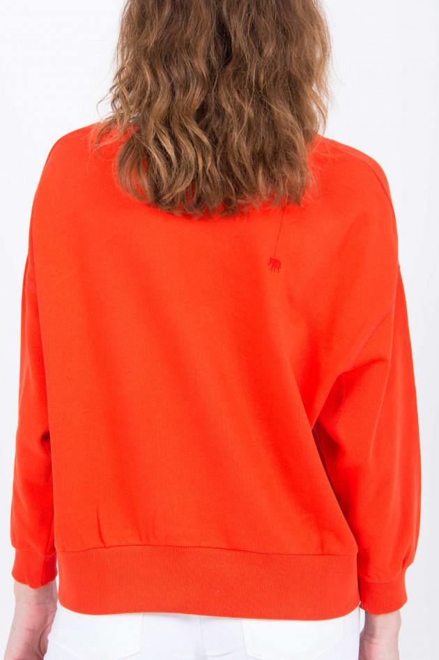 Love Joy Victory Oversized Sweater in Orange