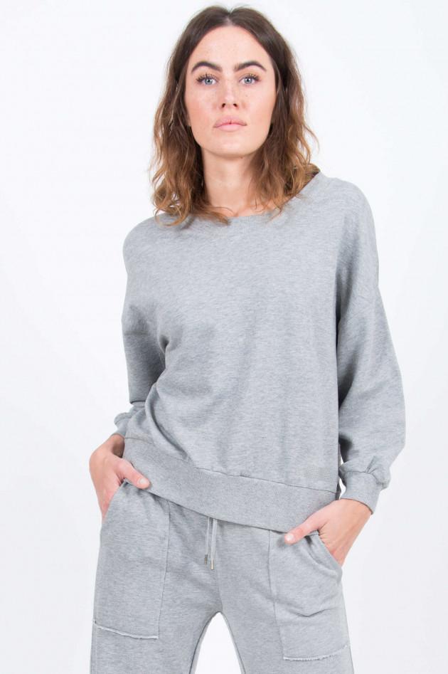 Love Joy Victory Oversized Sweater in Grau