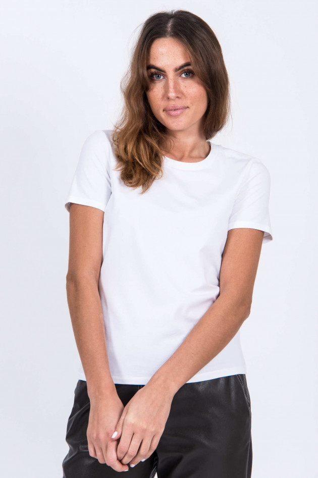Max Mara Leisure T-Shirt VAGARE in Weiß