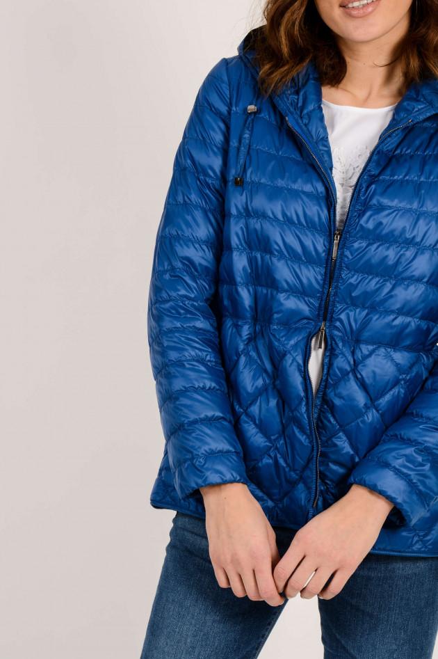 Max Mara Leichtdaunenjacke in Blau