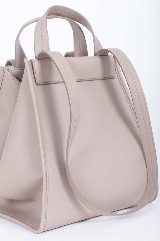 Max Mara-S Wende-Maxi-Shopper in Taupe