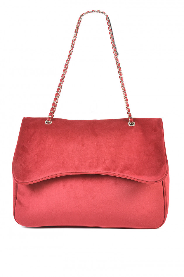 Mia Bag Handtasche Large in Bordeaux