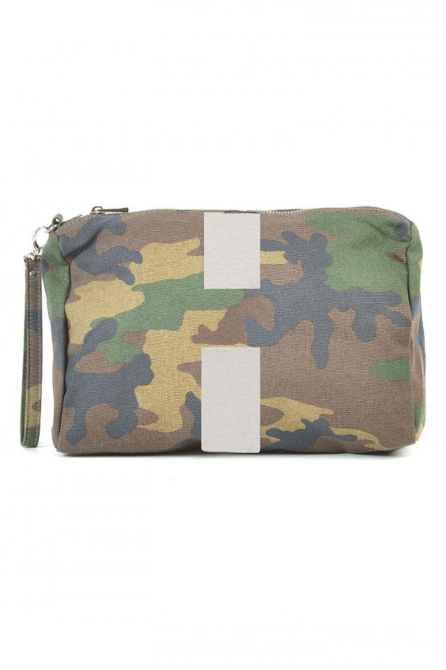 Beautycase mit Personalisierung in Camouflage