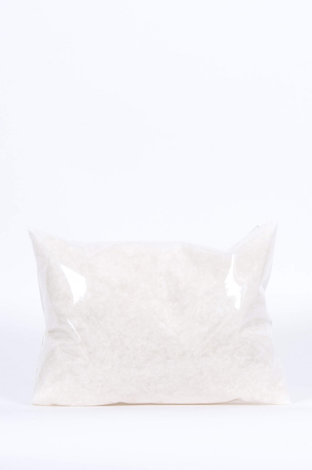 Moncler Daunenclutch SIOULE in Transparent/Weiß