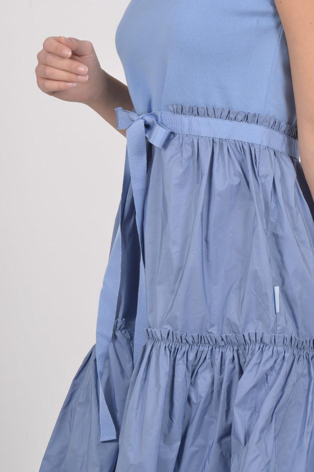 Moncler Moncler Kleid in Hellblau