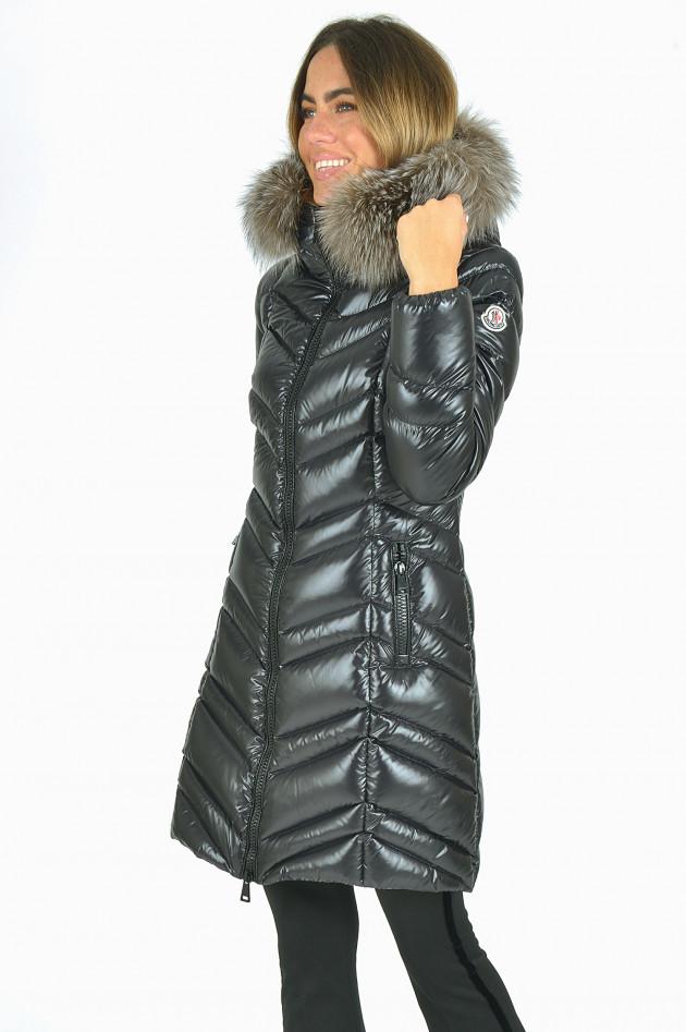 Moncler mantel schwarz