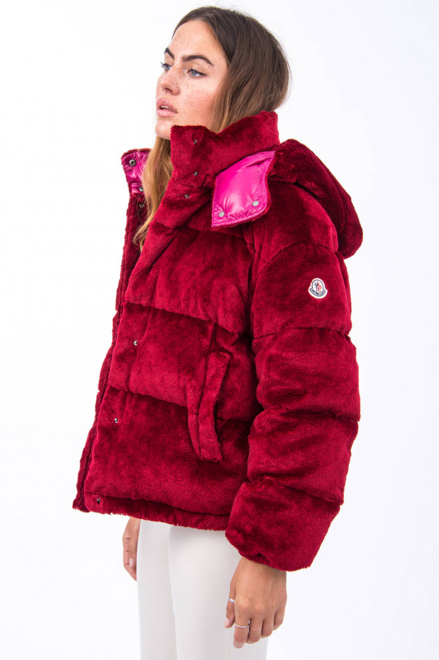 Moncler Steppjacke DAOS in Rotpink