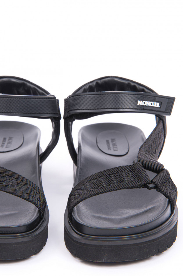 Moncler Sandale FLAVIA in Schwarz