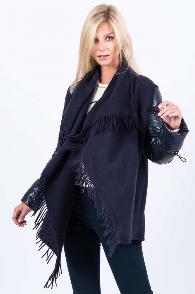 Moncler Wollcape MANTELLA in Navy