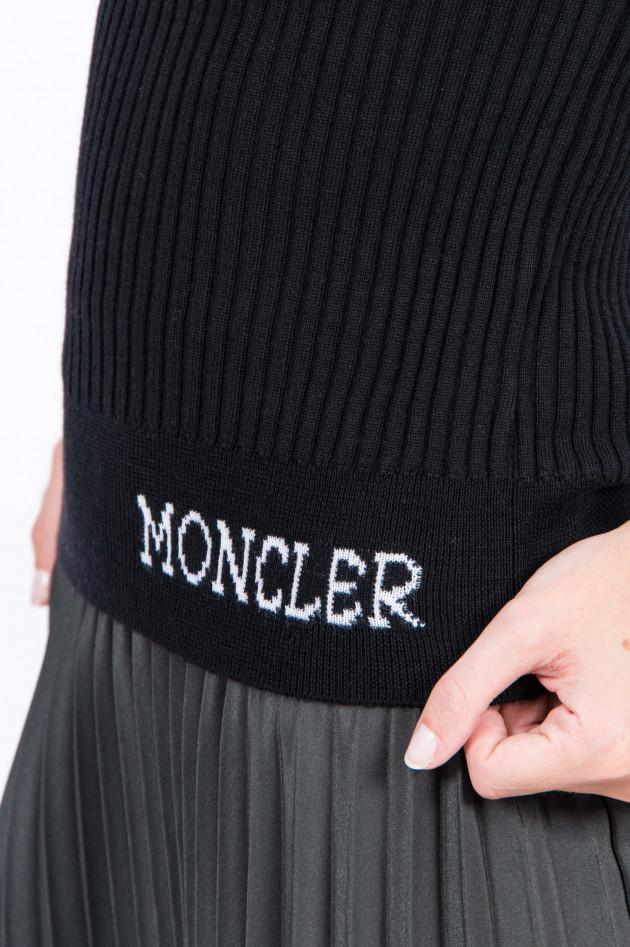 Moncler Rollkragen-Pullover in Schwarz