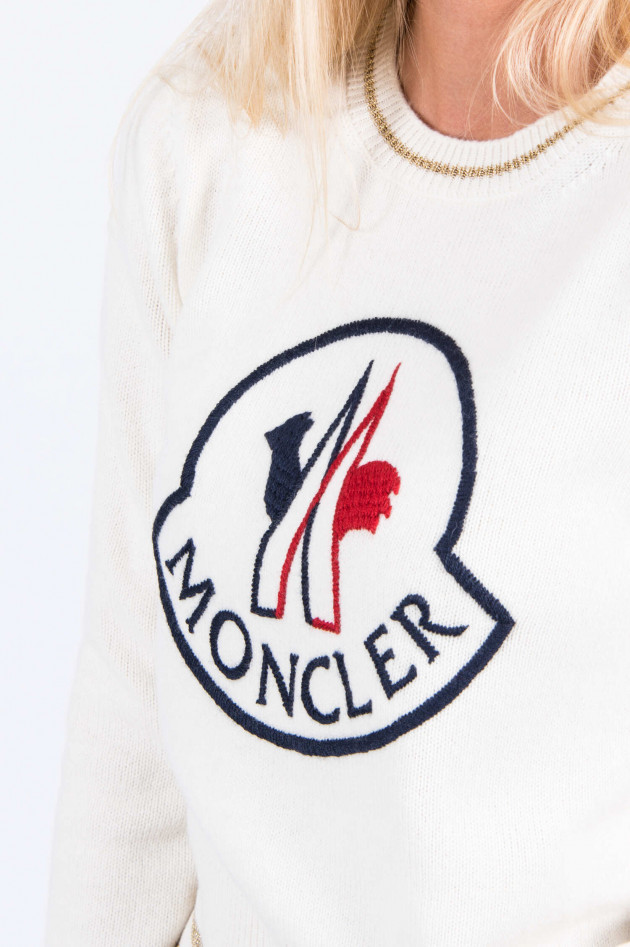 Moncler Pullover in Natur