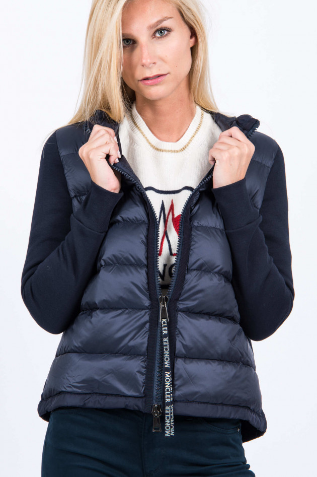 Moncler Sweatjacke in Navy