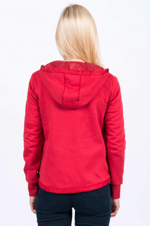 Moncler Sweatjacke in Rot