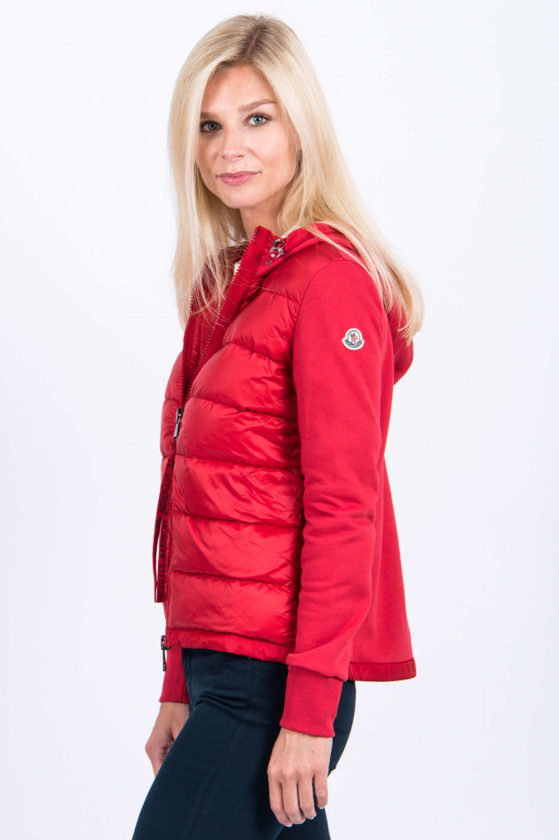 Moncler Sweatjacke in Rot