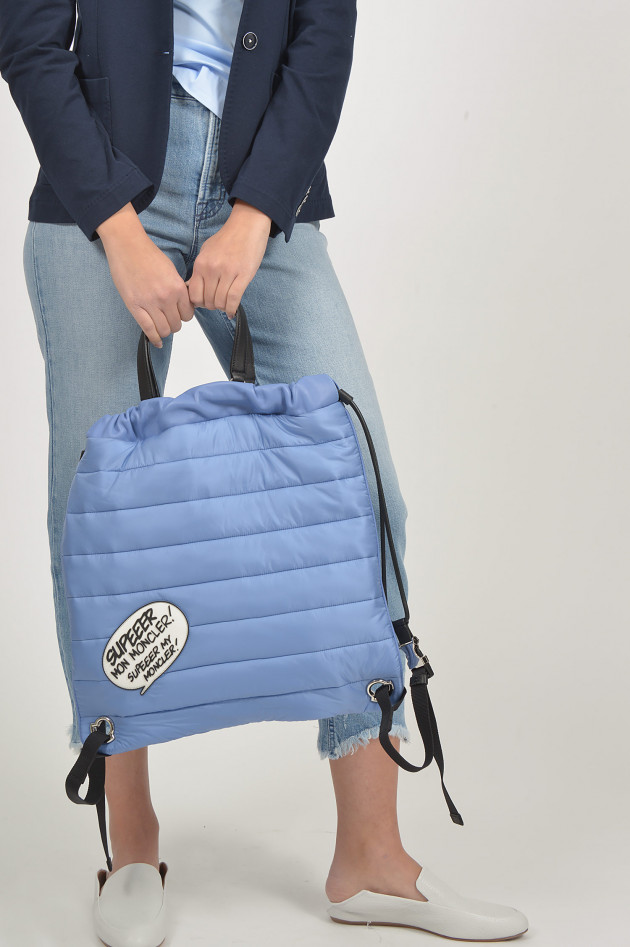 Moncler Rucksack KINLY in Blau
