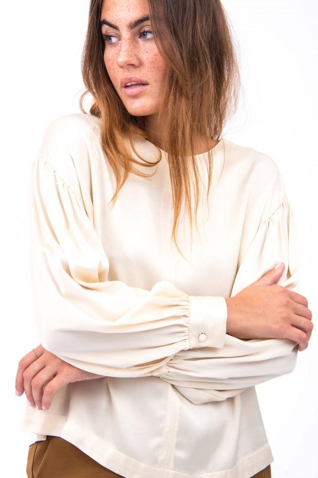 Ottodame Blusenshirt mit voluminösen Arm in Vanille