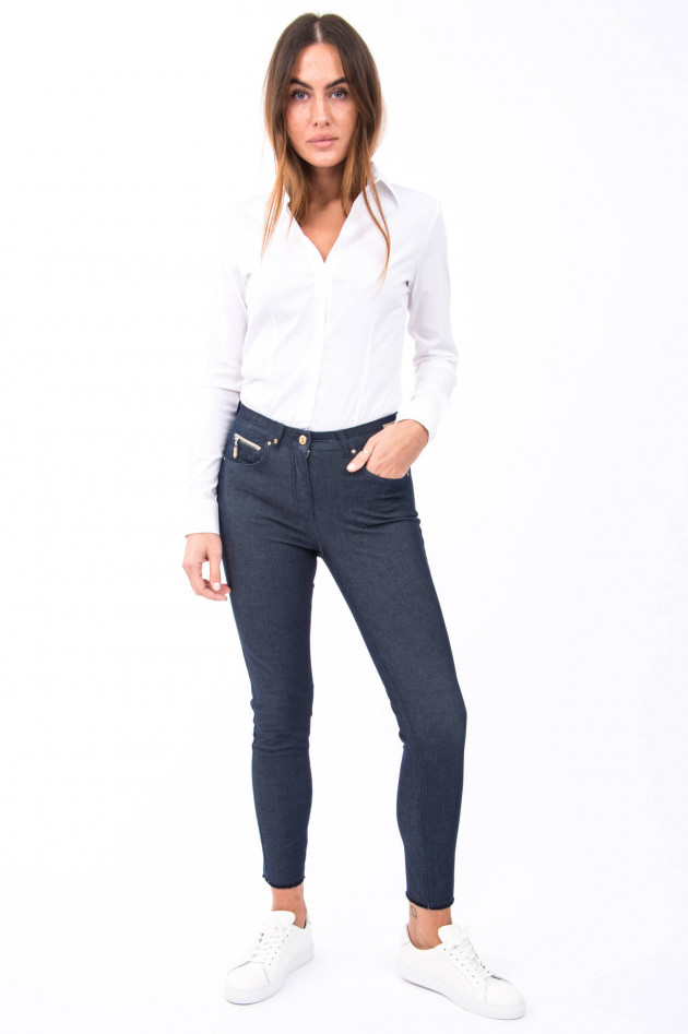 Pamela Henson Jeans CINQ CUT in Dunkelblau