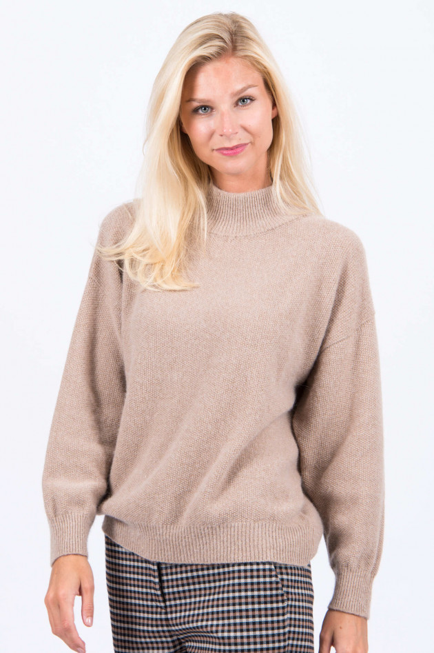 Peserico Pullover in Camel/Gold