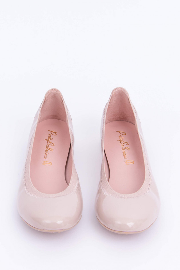 Pretty Ballerinas Hochglanz Ballerinas in Rose