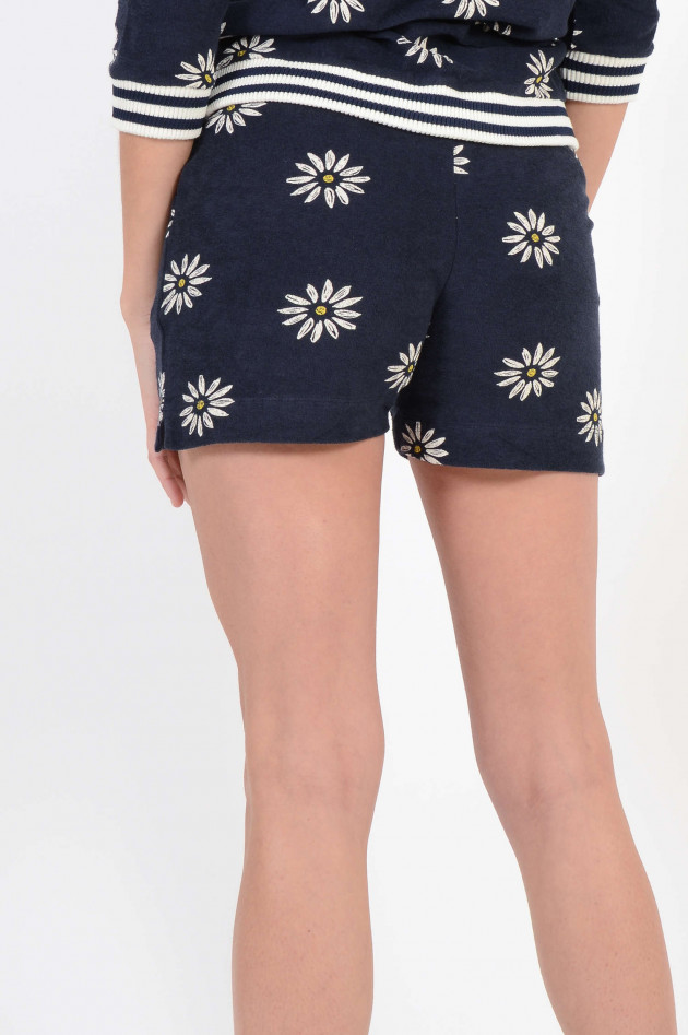 princess goes hollywood shorts floral gemustert in navy. Black Bedroom Furniture Sets. Home Design Ideas