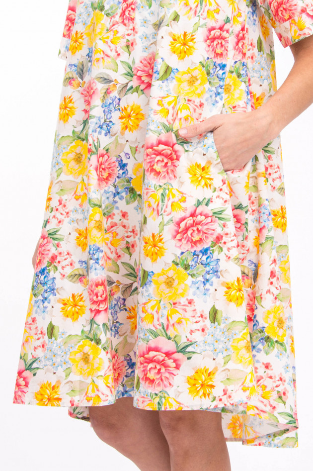Princess goes Hollywood Blusenkleid mit Blumen-Print in Multicolor