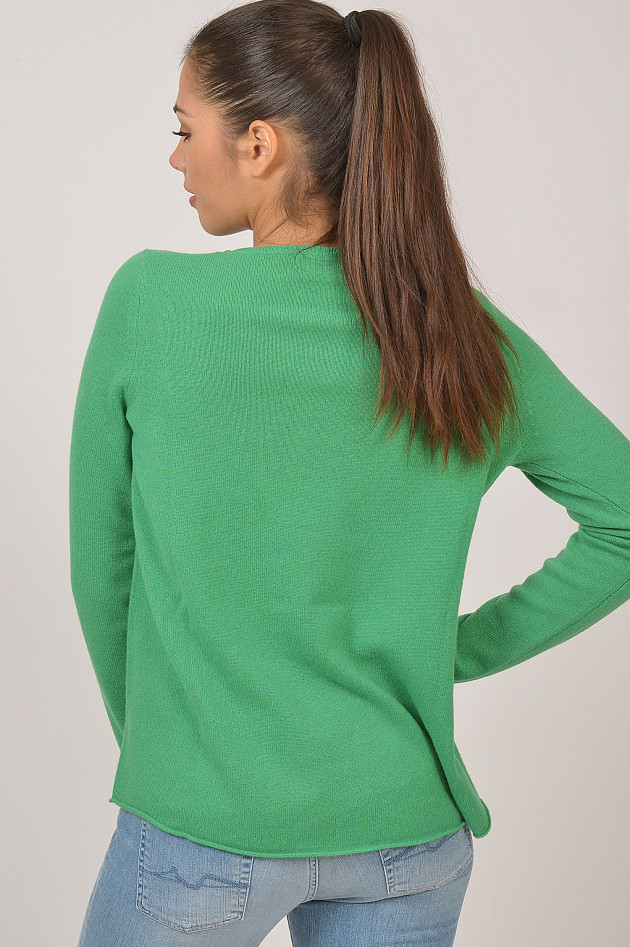 da8636a083 Princess goes Hollywood Oversized - Pullover aus Cashmere in Grün ...