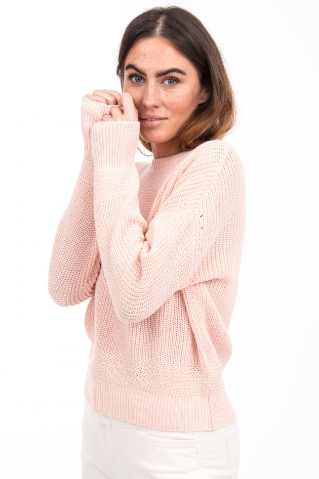 Princess goes Hollywood Pullover aus Baumwoll-Mix in Rosa