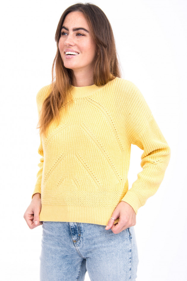 Princess goes Hollywood Grobstrick-Pullover in Gelb