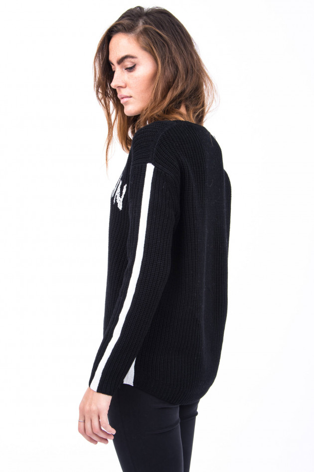 Princess goes Hollywood Strickpullover Mountain Lover in Schwarz
