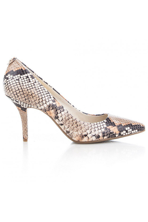 Michael Kors Pumps im Schlangendesign