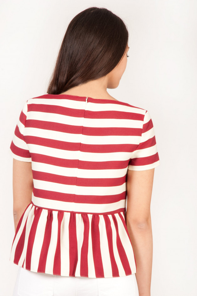 gr ner online shop red valentino shirt in rot wei gestreift. Black Bedroom Furniture Sets. Home Design Ideas