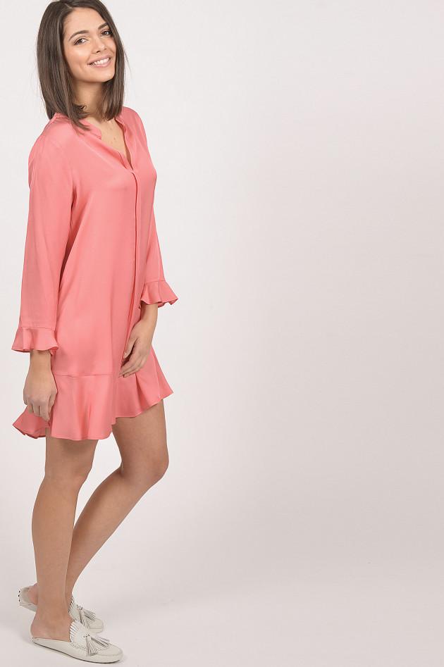 Grüner Online Shop: Repeat Kleid in Koralle