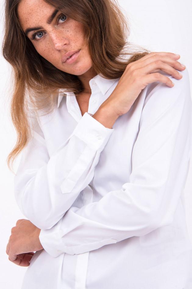 Rosanna Diva Bluse mit klassichen Kragen in Weiß